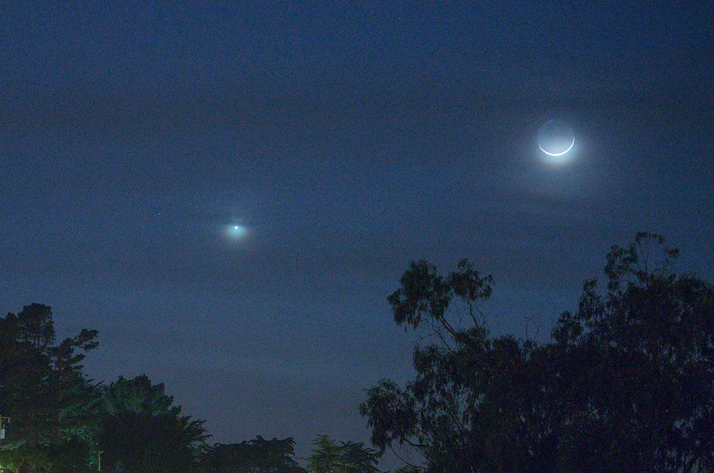 moon venus