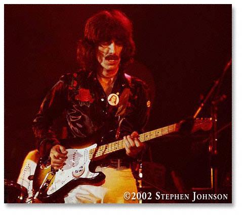11 años sin George Harrison.
